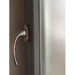 Fensterfolie | farblos | matt für Privatsphäre 90 x 50 cm