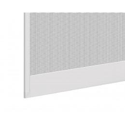 Insektenschutz-Drehtür aus Aluminium | 100x215 cm | weiß