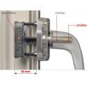 Fenstergriff | Aluminium | HOPPE Secustik | silber