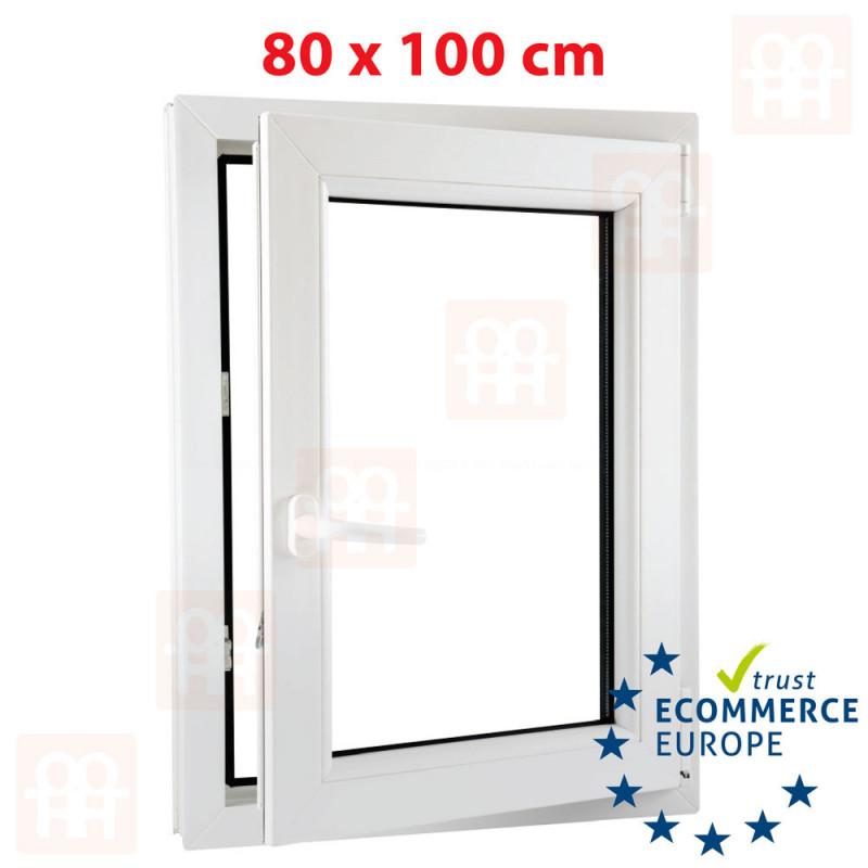 Fenster Kunststofffenster PVC Breite 700mm alle Höhen Dreh Kipp Kunststoffenster