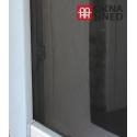 Insektenschutz-Fenster   individuell kürzbar   100 x 100 cm   schwarz