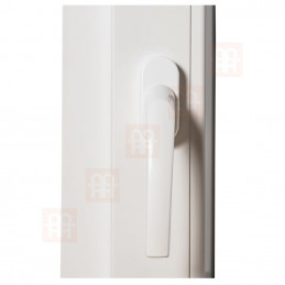 Kunststofffenster | 50x70 cm (500x700 mm) | weiß | Dreh-Kipp-Fenster | rechts | 6 Kammern