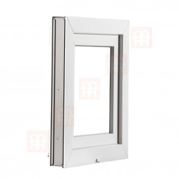 Kunststofffenster   60 x 80 cm (600 x 800 mm)   weiß   dreh-kipp   rechts   6 Kammern