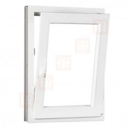 Kunststofffenster | 100x150 cm (1000x1500 mm) | weiß | Dreh-Kipp-Fenster | rechts | 6 Kammern
