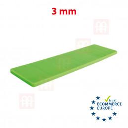 Kunststoff-Unterlage 28mm x 100mm x 3mm