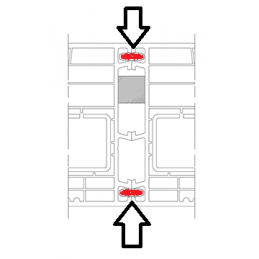 Kopplungen Fenster und Türen | Kunststoff Kopplungsfeder